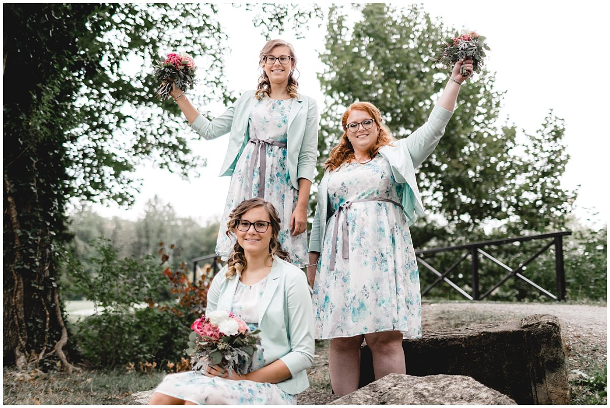 Schlosspark Pottendorf Bridemaids
